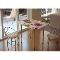 Стол обеденный с принтом (десерт)